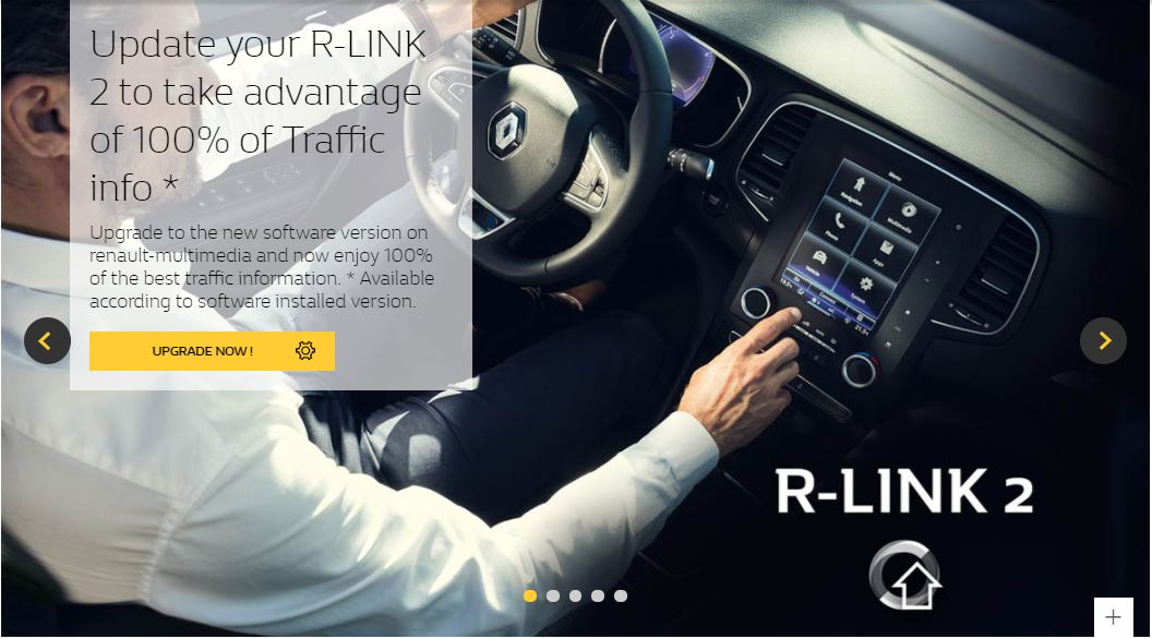 R-Link 2: install an update yourself – GPS R-Link