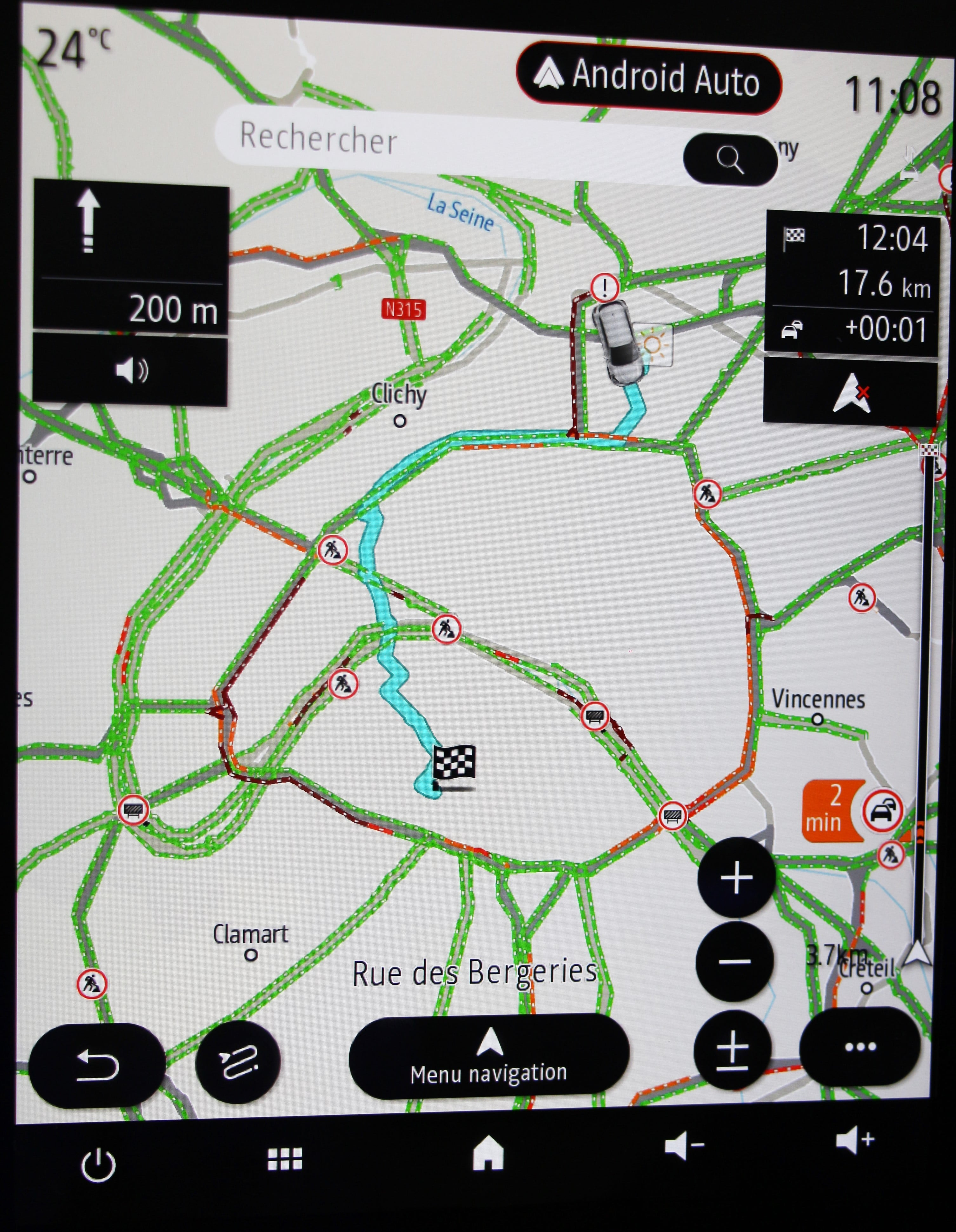 Easy link 9 3: first review – Navigation (2/3) – GPS R-Link