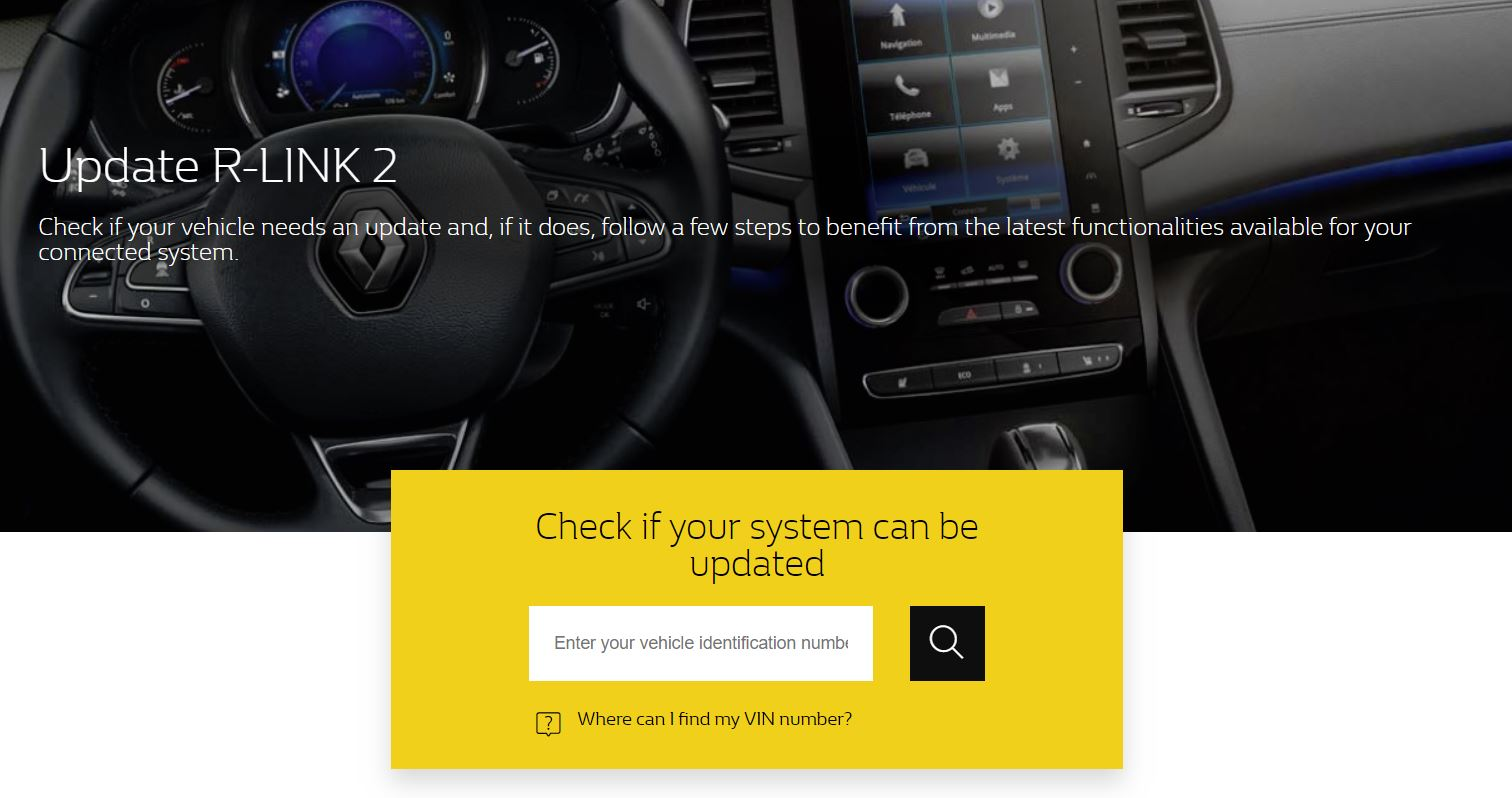 R-Link 2 : update 7 0 24 160 available – GPS R-Link